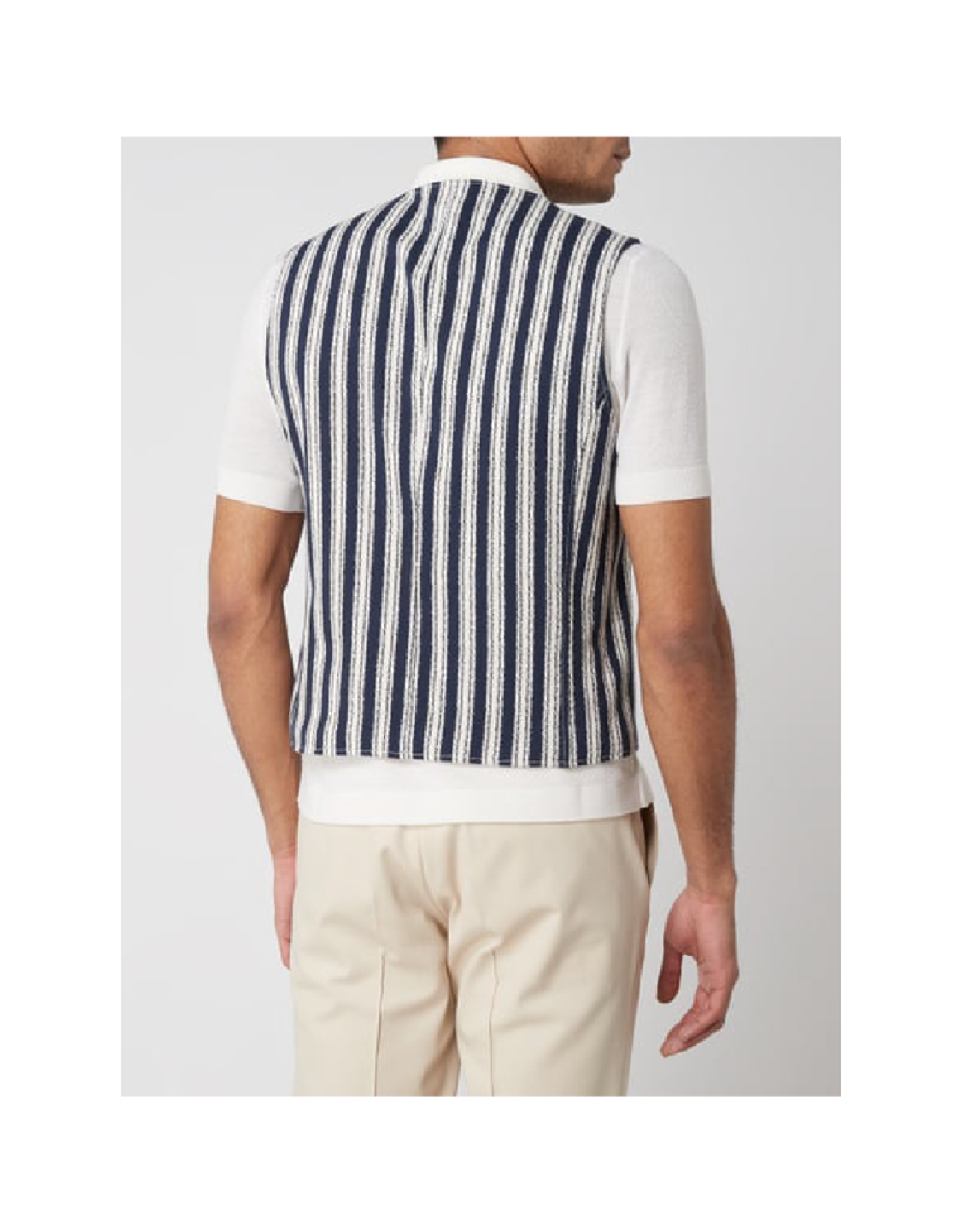 Club Of Gents Mosely Tailored Cotton Vest
