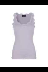 Rosemunde Lace Roundneck Silk/Cotton Tank