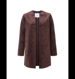 YaYa Open Velvety Jacket (2 Colours)