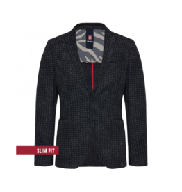 Club Of Gents Casey Dogtooth Slim Blazer