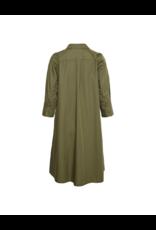 Kaffe Pocketed 3/4 Sleeve A-Line Dress
