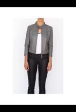 Bano eeMee Lisbon Center Zip Leather Jacket