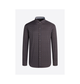 Bugatchi Uomo Stretchy Multi Dot L/S Button Up
