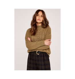 Apricot Cable Knit Sweater (2 Colours Available)