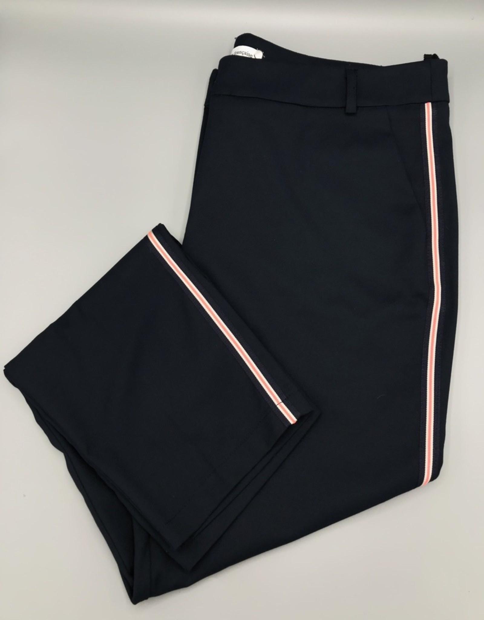 La Petite Francaise Partiel Neon Stripe Chino Pant