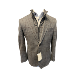 Tailored Blazer w/Zip-Out Bib (Tall Sizes Available)