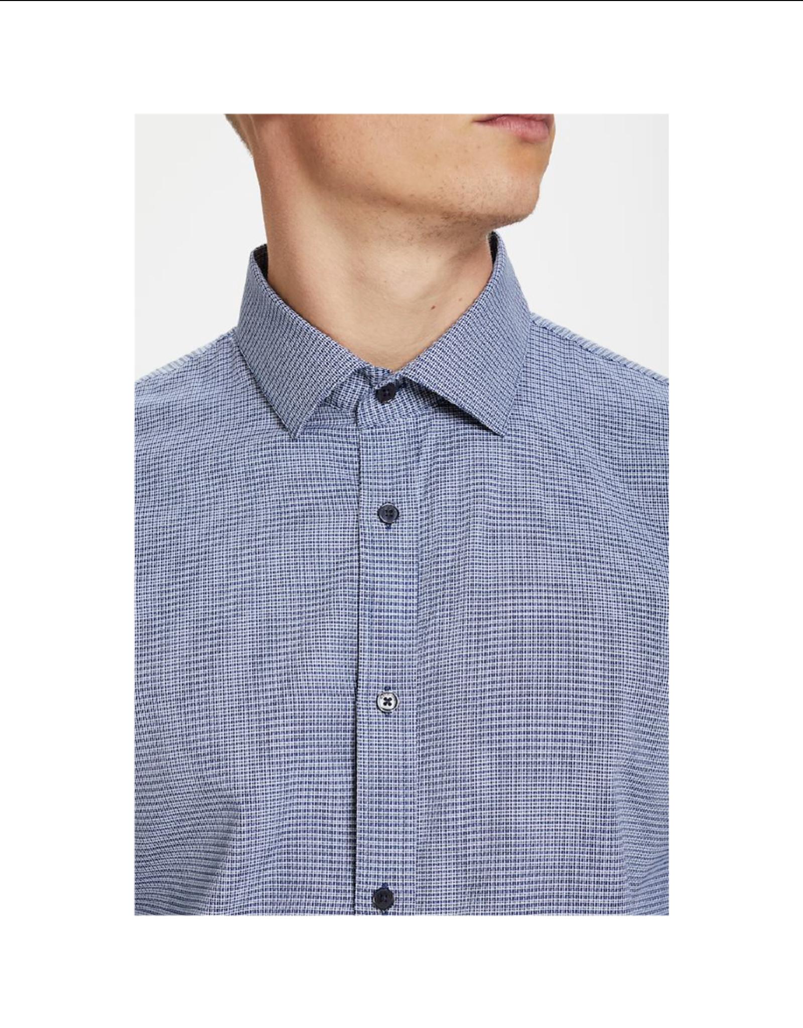 Matinique Trostol Mini Plaid Long-Sleeve Button Up