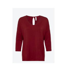 Soya Concept V-Neck 3/4 Sleeve Top