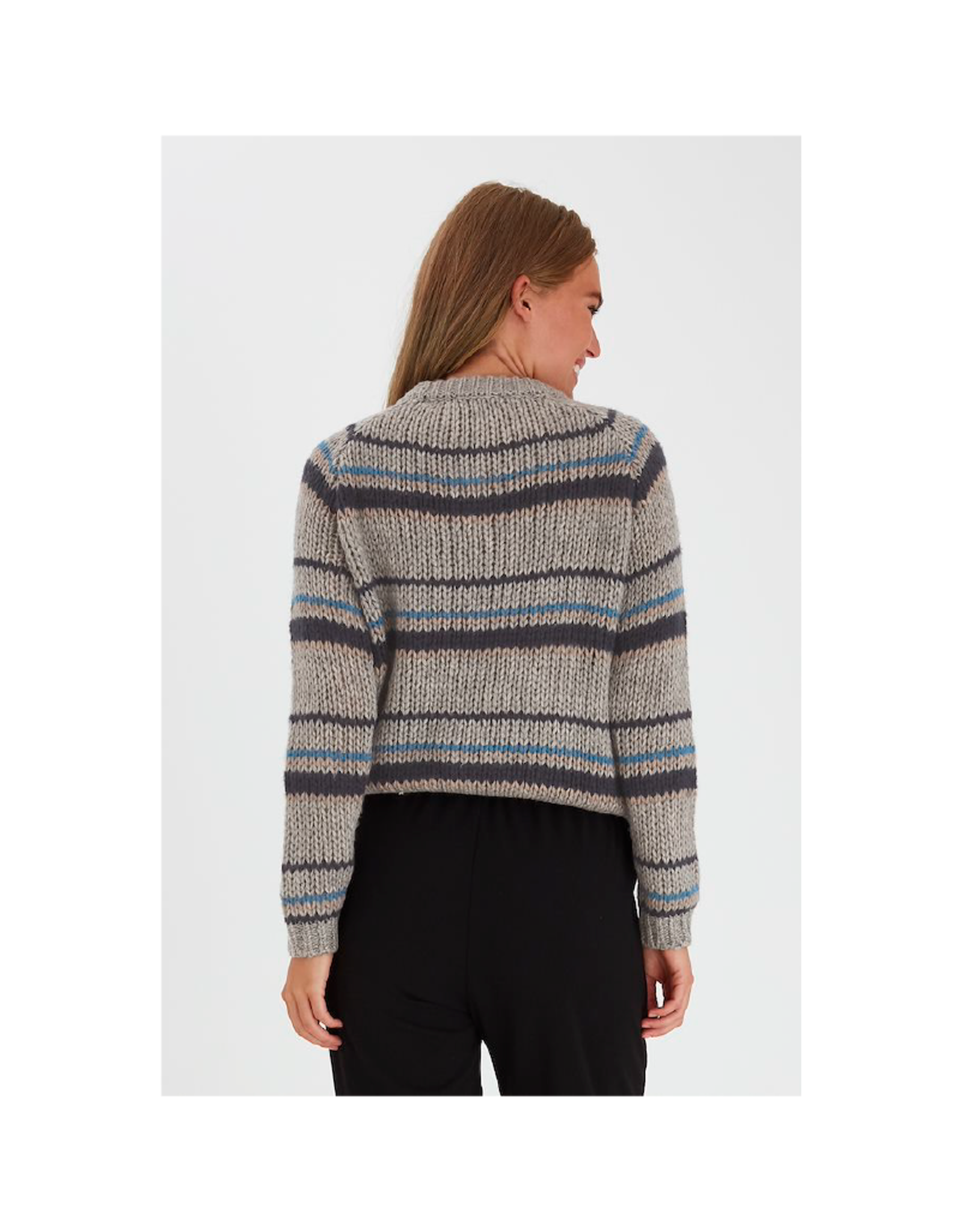 B. Young Thin & Thick Stripe Sweater