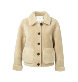 YaYa 100% Wool Reversible Coat