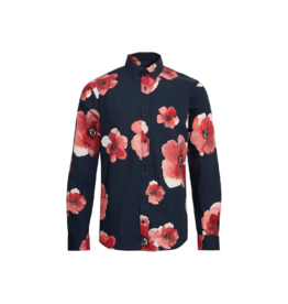 Matinique Robo Water Print L/S Button Up