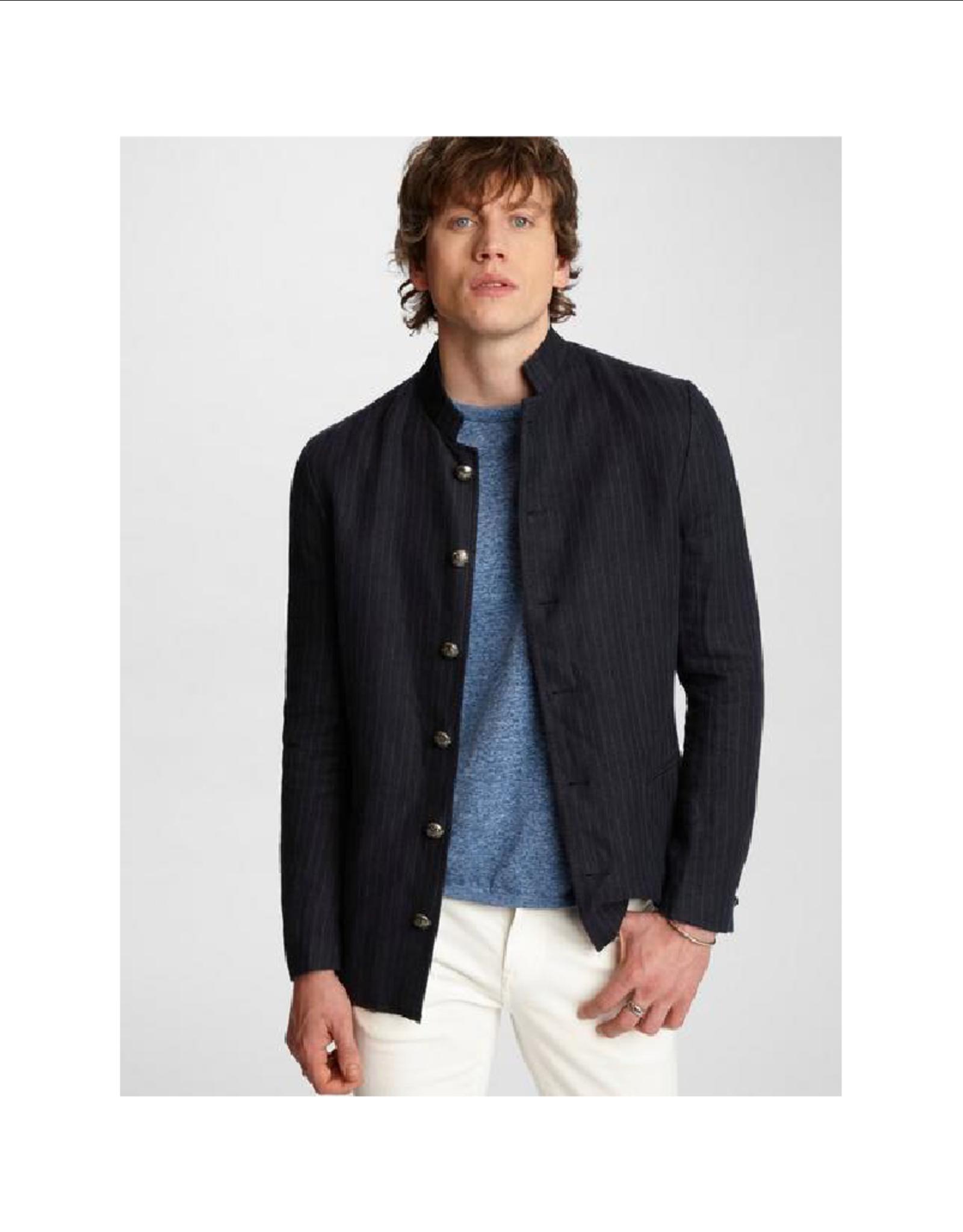 John Varvatos Willy Washed Pinstripe Jacket