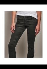 AG Jeans Legging Ankle Vintage Leather Black
