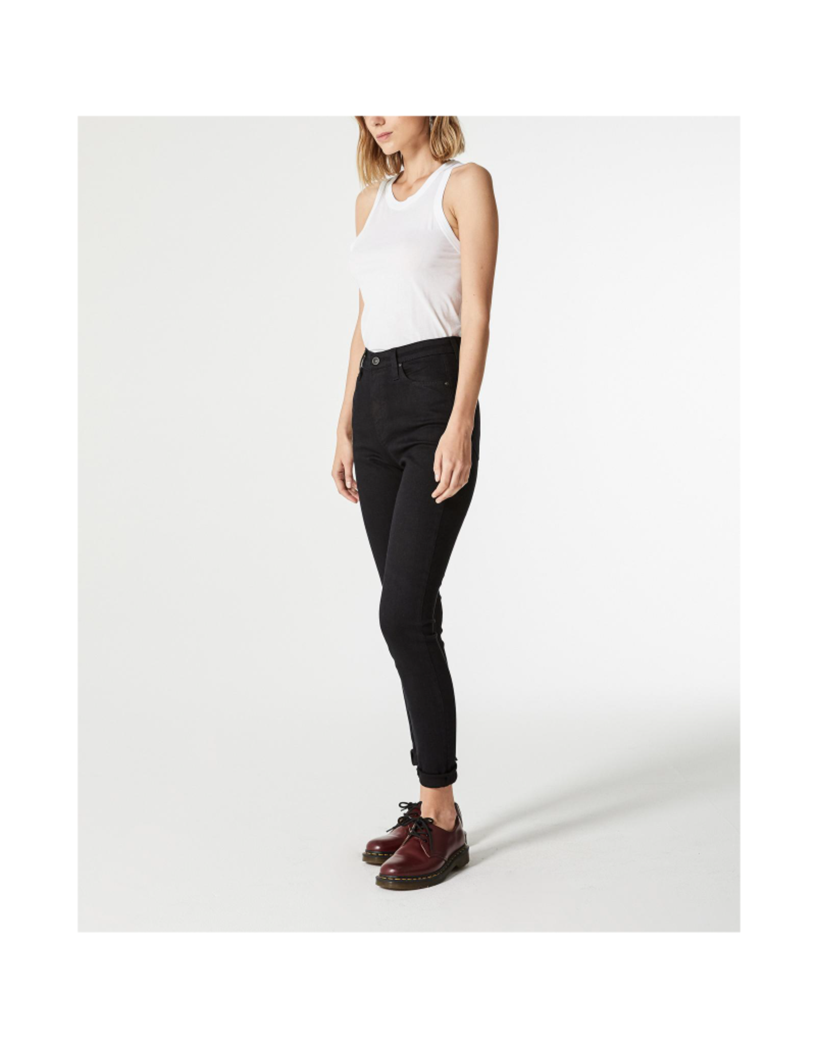 AG Jeans Mila Overdye Black