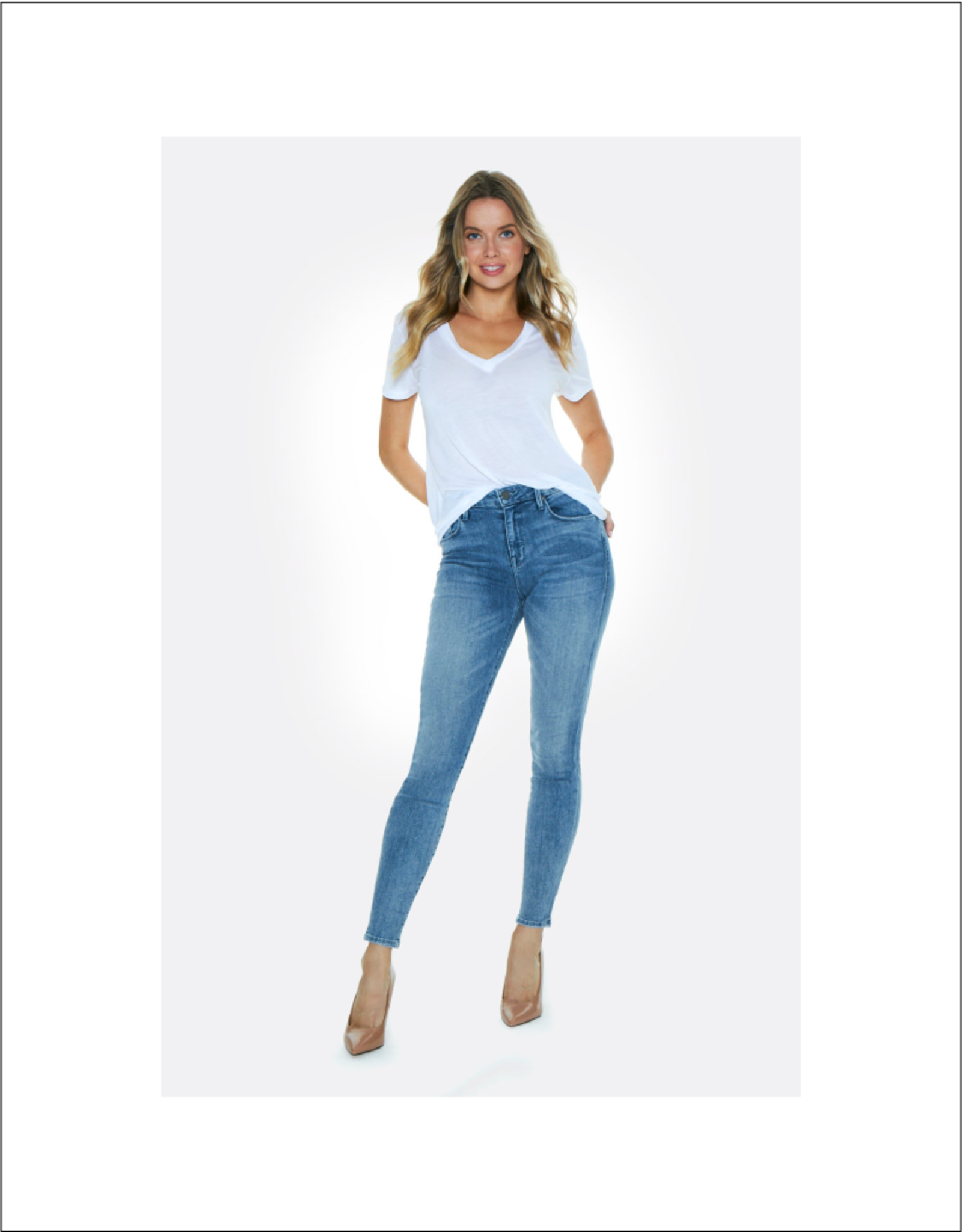 Parker Smith Ava Mid-Rise Skinny Cove