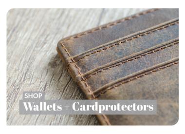 Unisex Wallets + Card Protectors