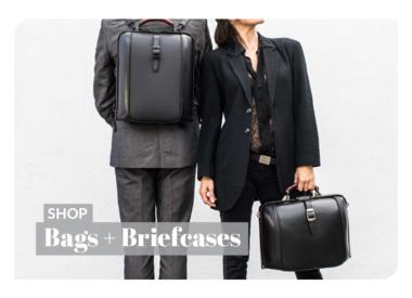 Unisex Bags + Briefcases
