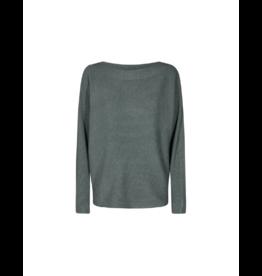 Soya Concept Boatneck Ribbed Sweater