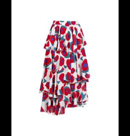Anonyme Sandra Tulip Tiered Midi Skirt