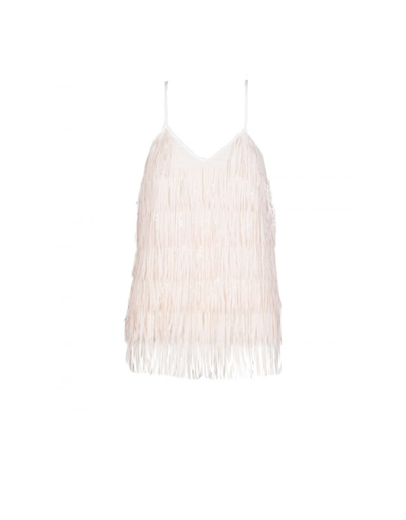 Anonyme Tracy Thin Strap Feather Top