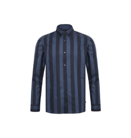 Matinique Robo Big Stripe L/S Button Up