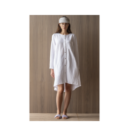 Bodybag Bay Club Roll Sleeve Linen Dress (Multiple Colours Available)