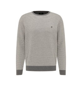 Fynch Hatton Roundneck Cotton Sweater