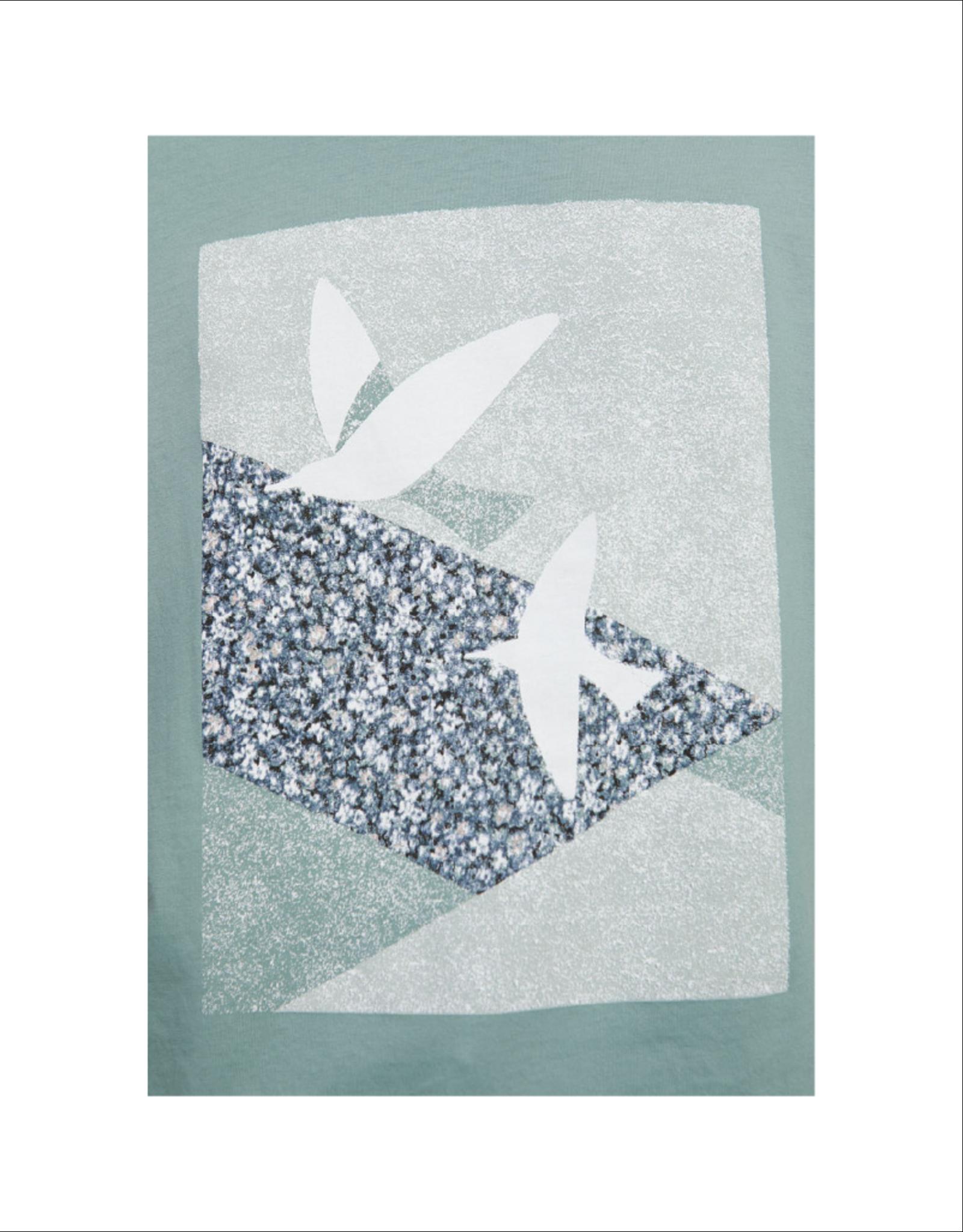 Armedangels Boxy Bird Printed Tee