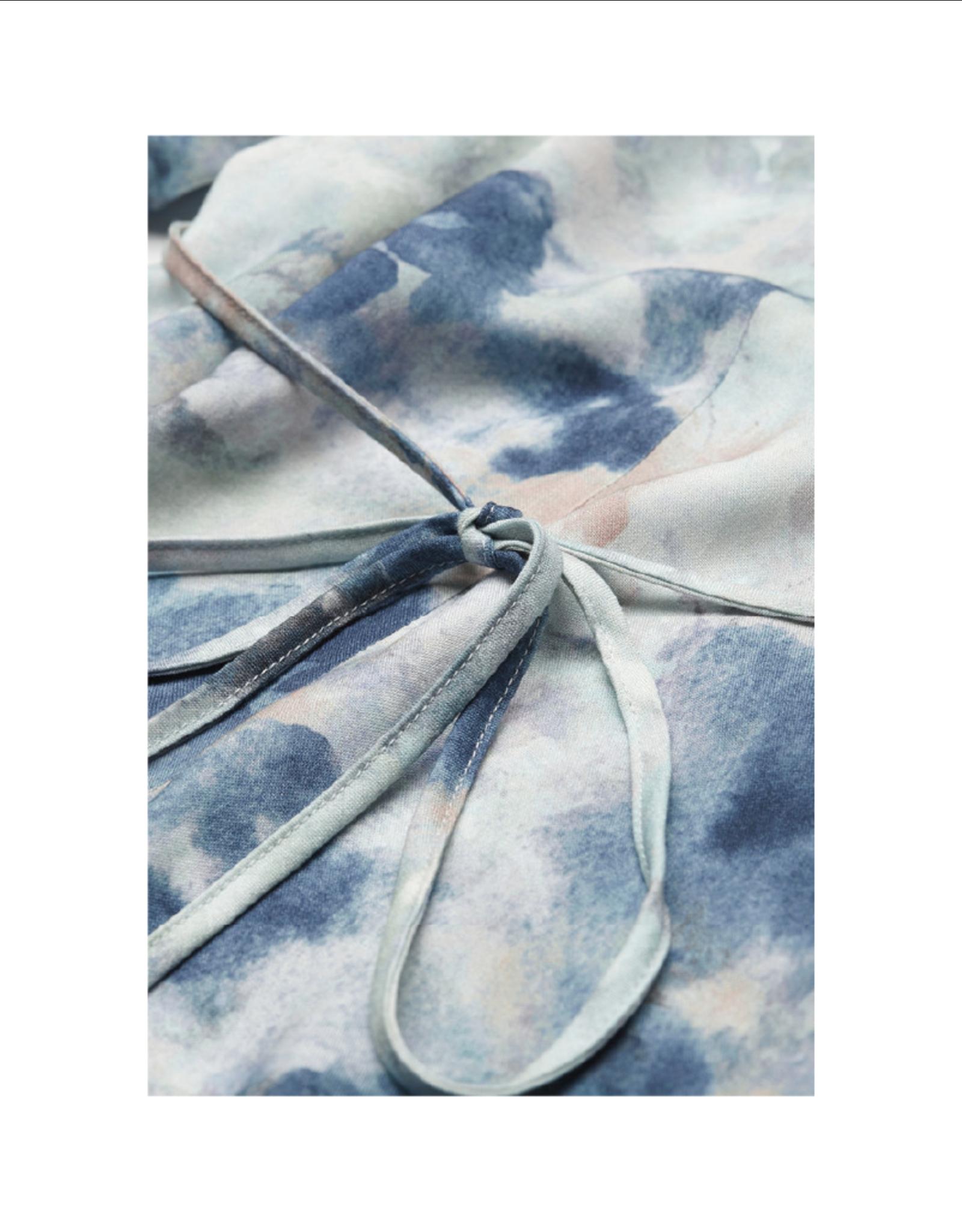 Armedangels V-Neck 3/4 Sleeve Dress