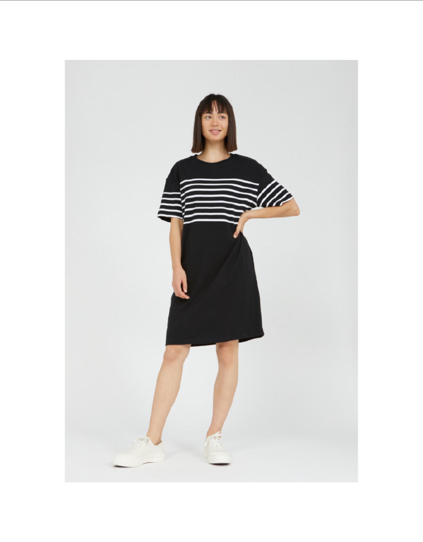 Armedangels Stripe Sleeve Boxy Dress