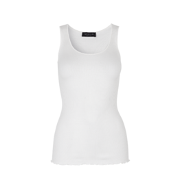 Rosemunde Whip Stitch Neckline Tank (2 Colours Available)