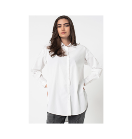 B. Young Organic Tunic Length Button Up
