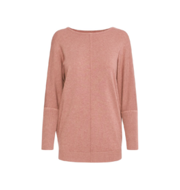 B. Young Centre Seam Batwing Sweater Pink