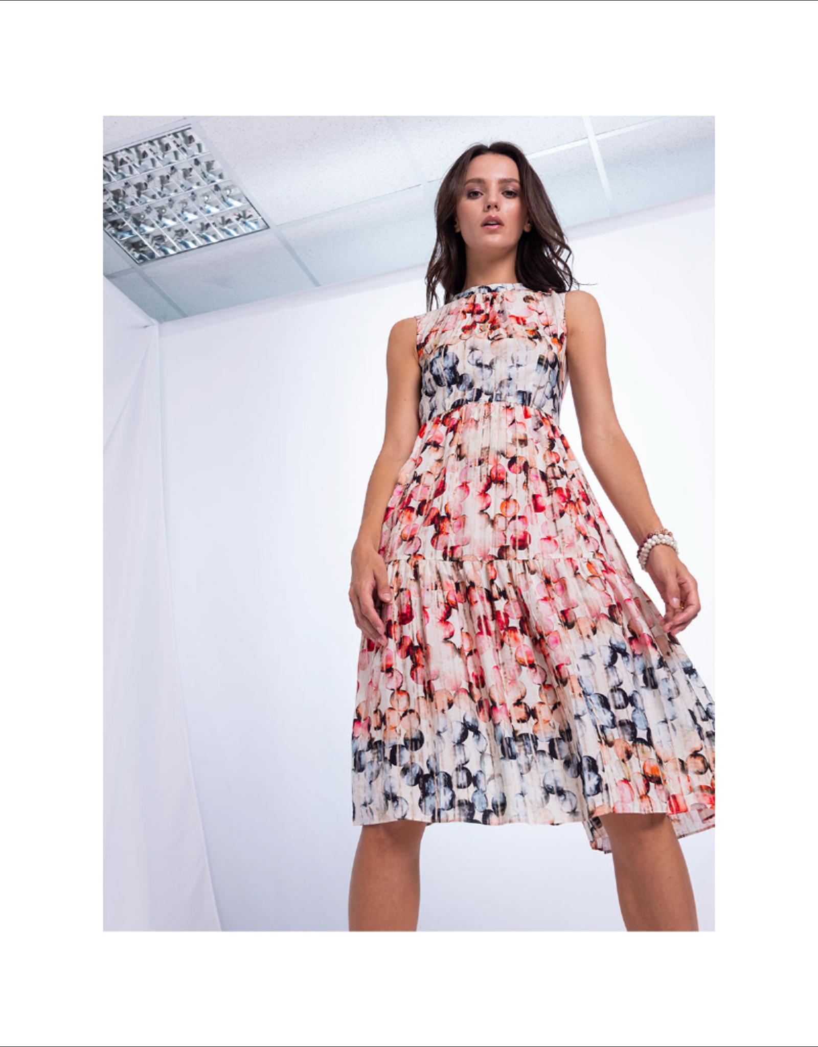 Anonyme Dafne Tied Ruffle Bubble Dress
