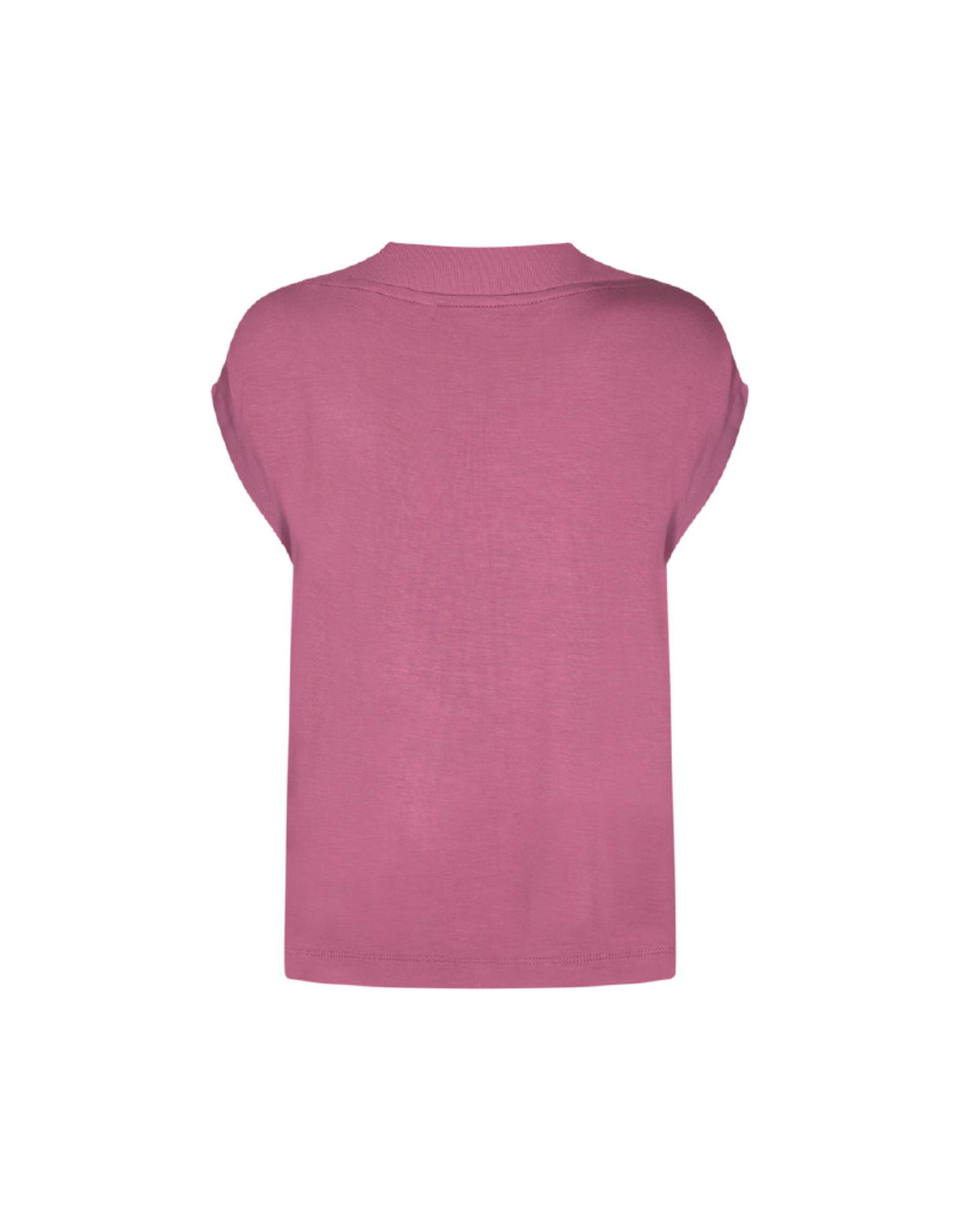Soya Concept Thick V-Neck Cap Sleeve Tee
