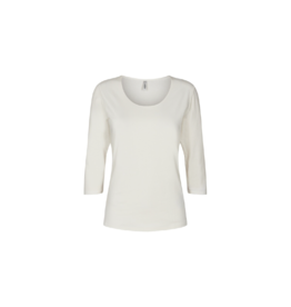 Soya Concept Scoop Neck 3/4 Sleeve Top (2 Colours Available)