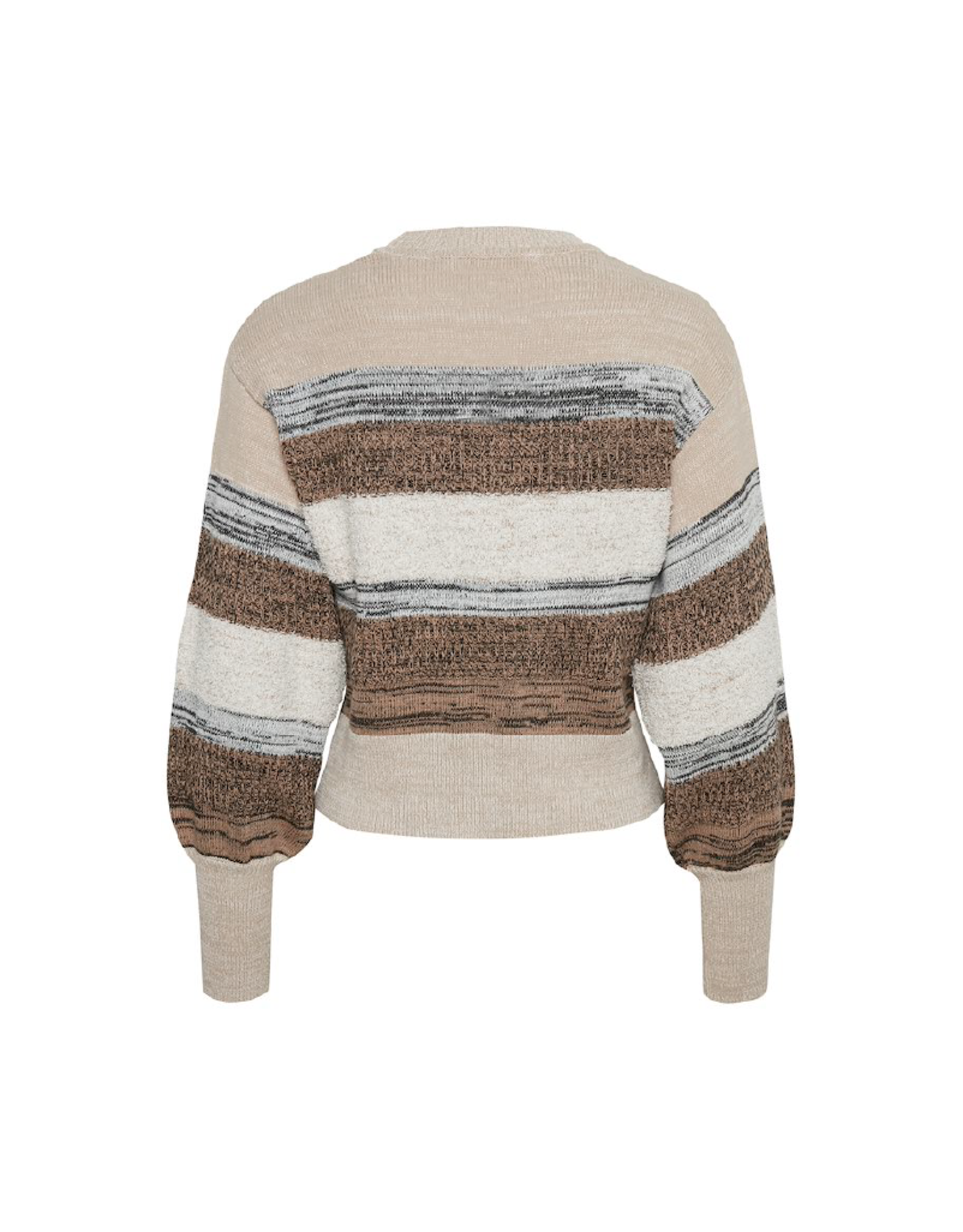Inwear Striped Cotton Sweater