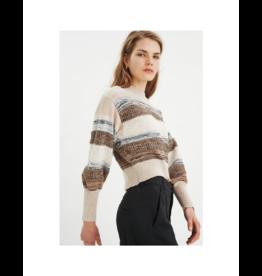 Inwear Striped Cotton Sweater