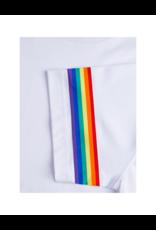 Bugatchi Uomo Rainbow Sleeve Tee