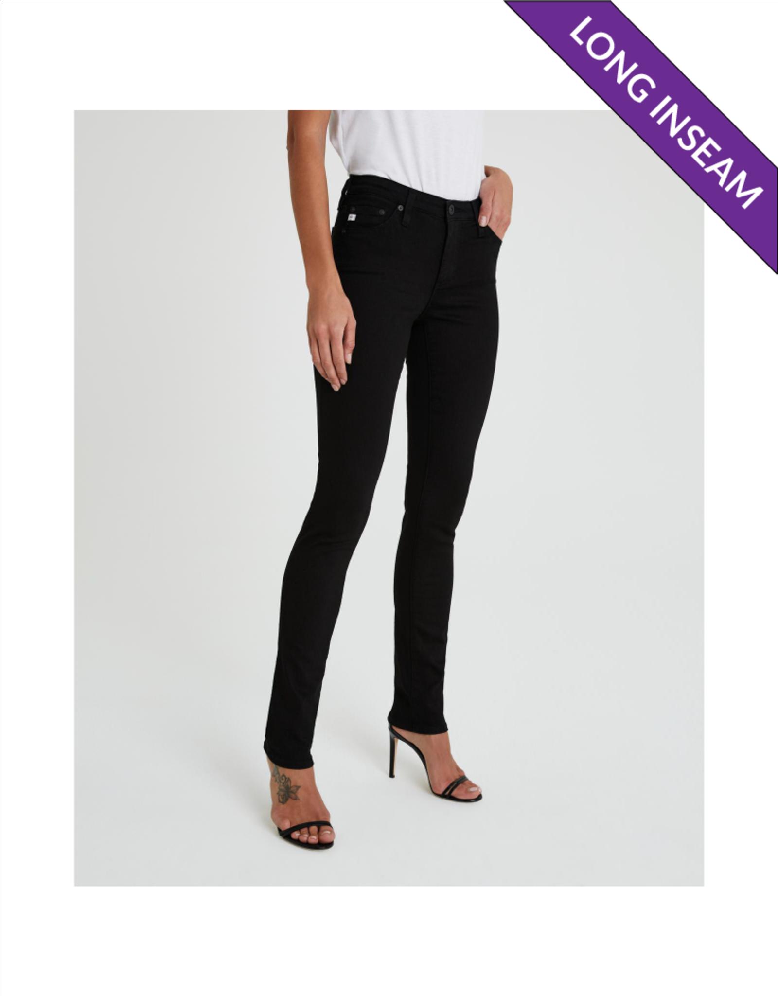 AG Jeans Long Inseam Double Black