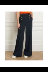 Iris Crinkle Weave Wide Leg Pant