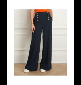"""Iris Crinkle Weave Wide Leg Pant (33"""" Inseam)"""
