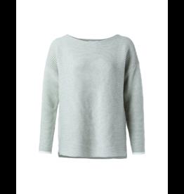YaYa Ottoman Low Neck Sweater