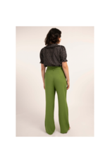 FRNCH Perrette Belted Linen Pant