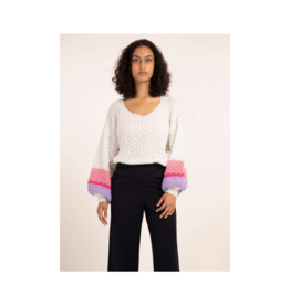 FRNCH Nyna Balloon Sleeve Sweater