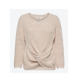 Cream Front Tie Sweater (2 Colours Available)