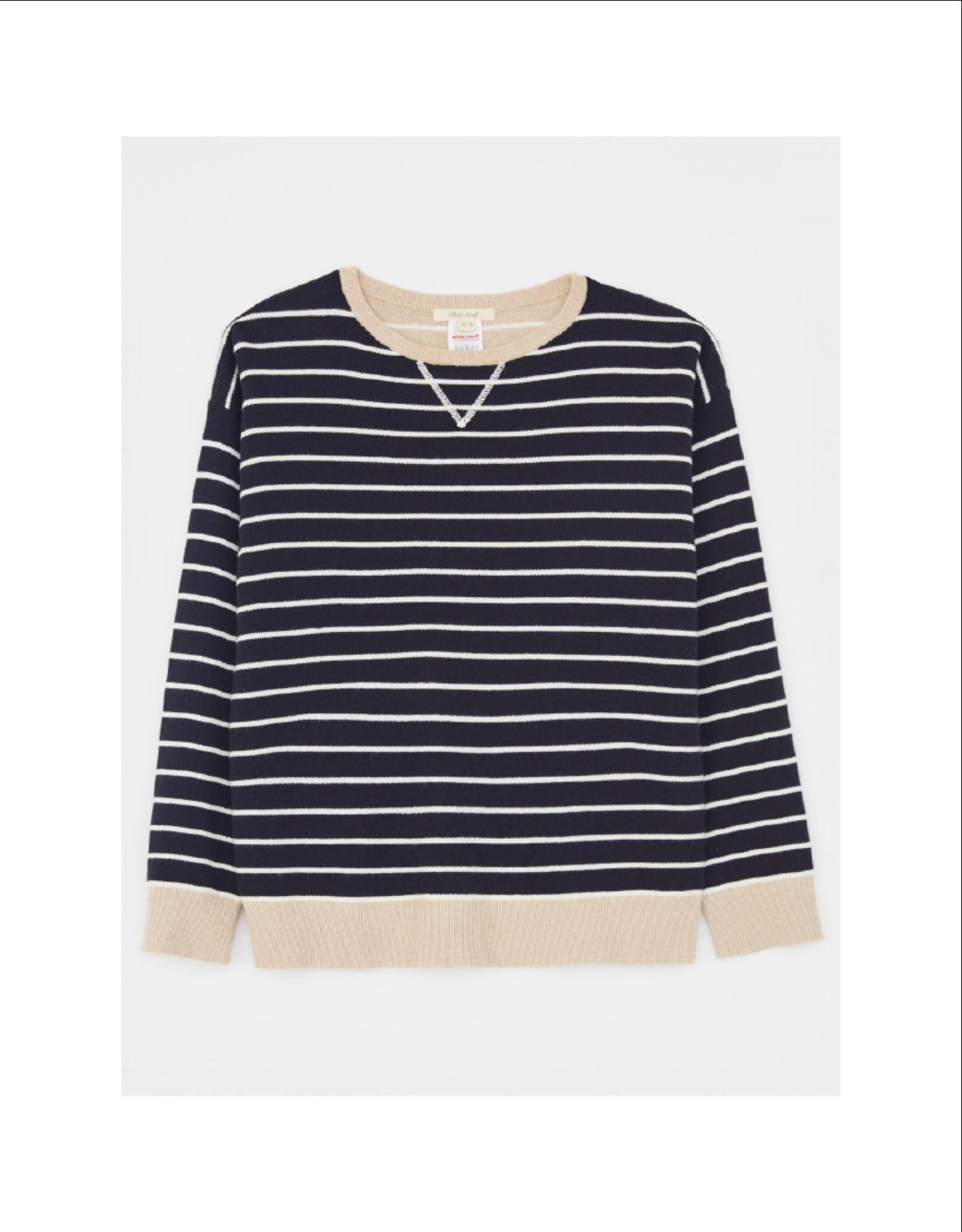 White Stuff Cotton/Cashmere Sweater