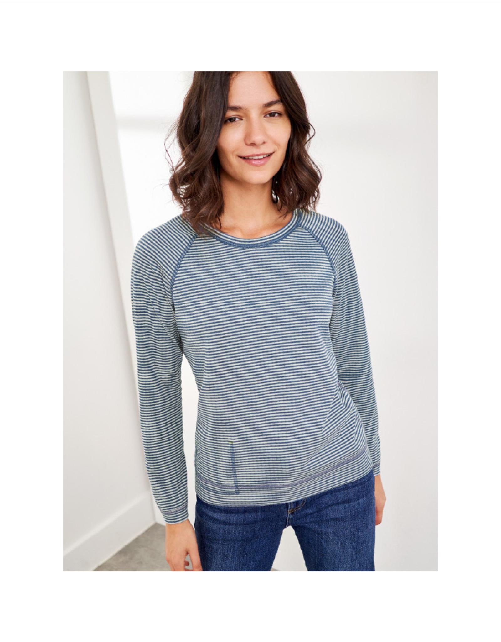 White Stuff Stripe Reversible Sweater