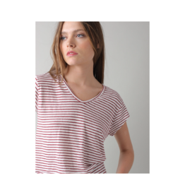 Indi & Cold Linen Stripe Tee