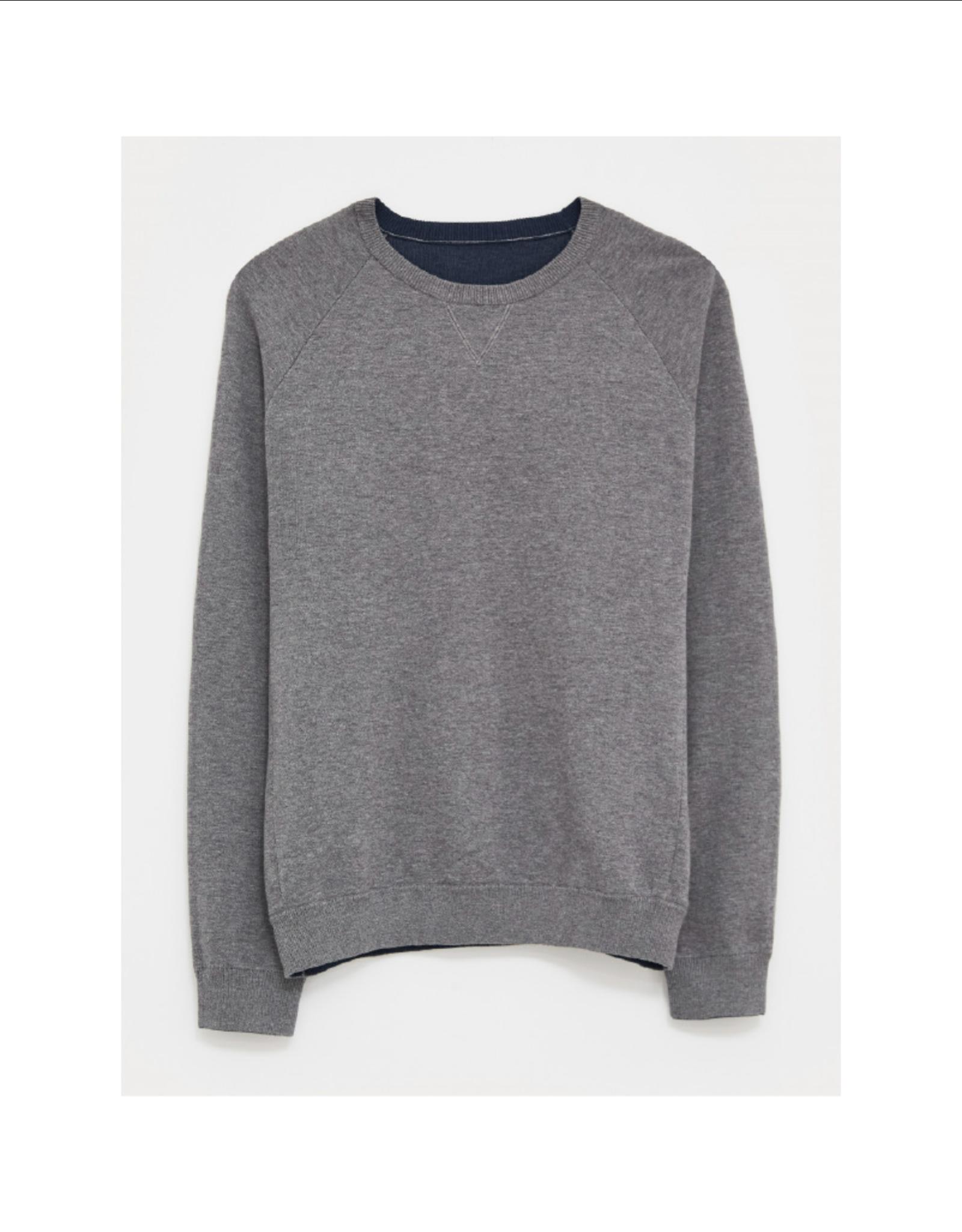 White Stuff Reversible Cotton Sweater